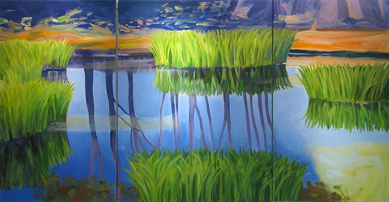 Sandy Belock Phippen-Iris Pond